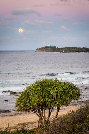 Mooloolaba Moon - The Salty Pixel