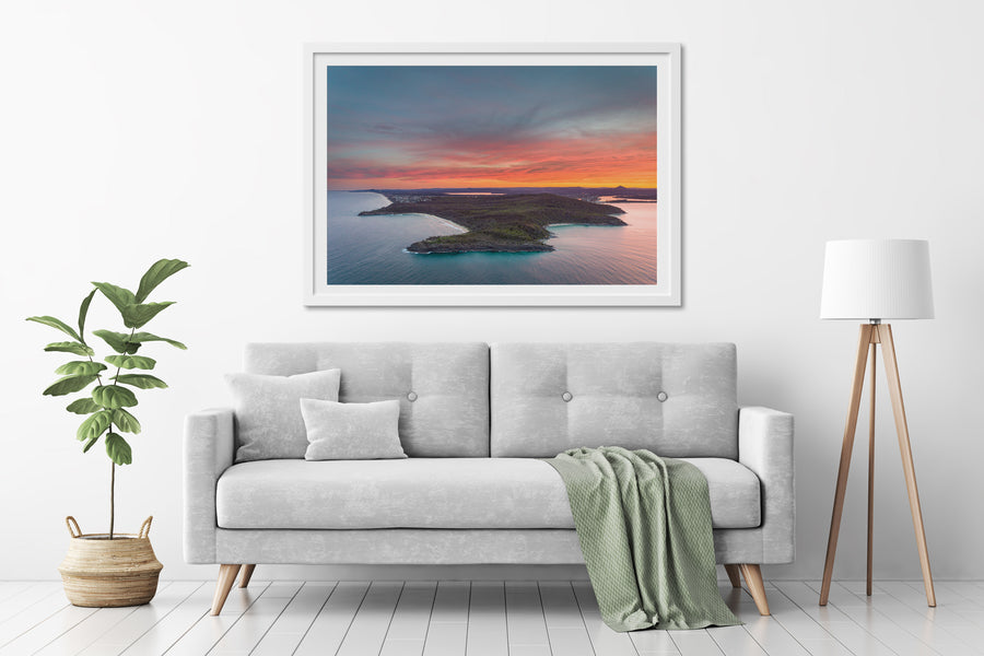 National Park Sunset - [product_tags] - The Salty Pixel