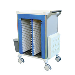 Medical Record Trolley No Drawer