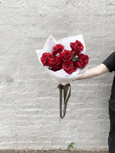 Load image into Gallery viewer, Luxe Valentines Red Rose Bouquet