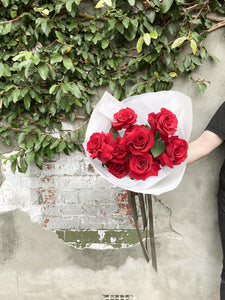 Luxe Valentines Red Rose Bouquet