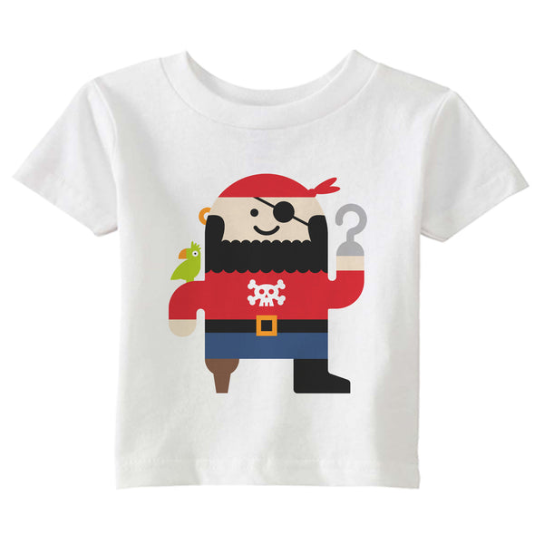 pirate t-shirt - modern moose - t-shirt - 1