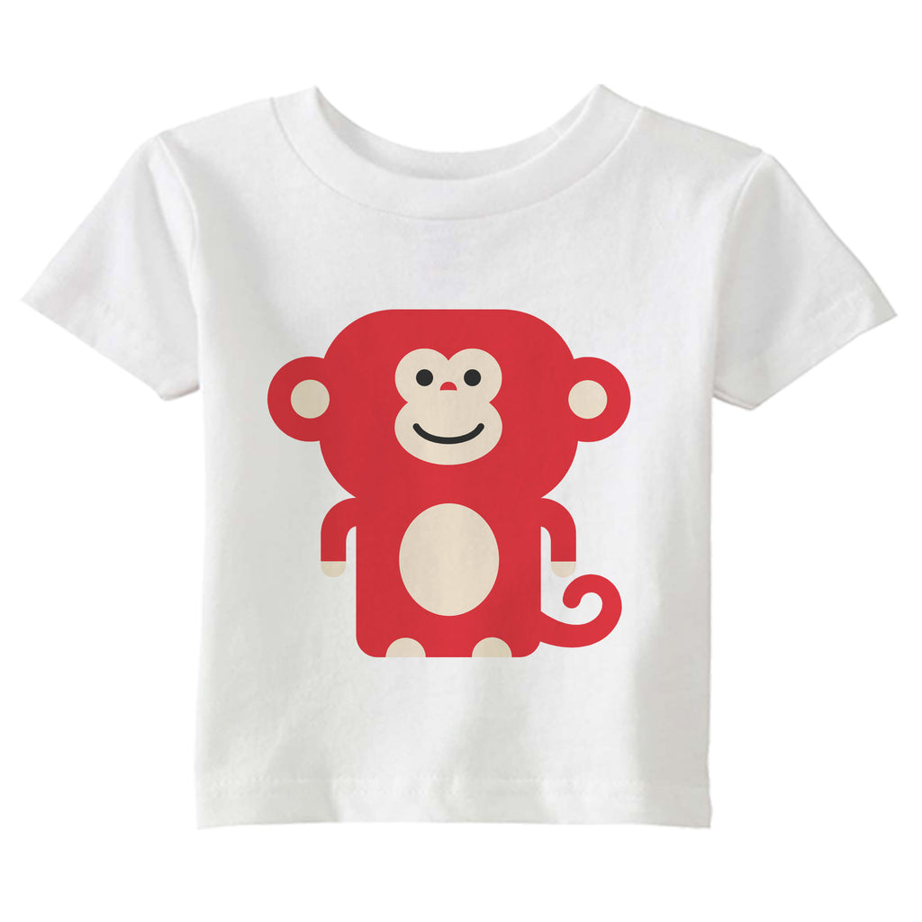 monkey t-shirt - modern moose - t-shirt - 1