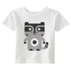 raccoon t-shirt - modern moose - t-shirt - 1