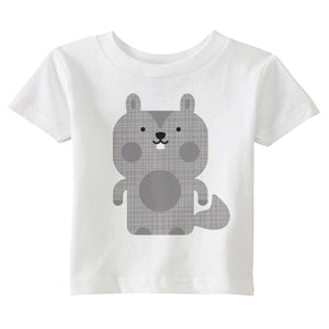 squirrel t-shirt - modern moose - t-shirt - 1