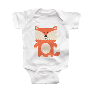 fox infant bodysuit