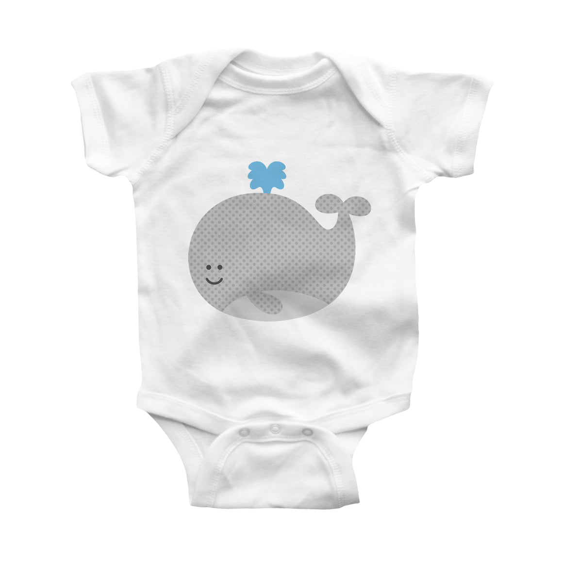 whale infant bodysuit