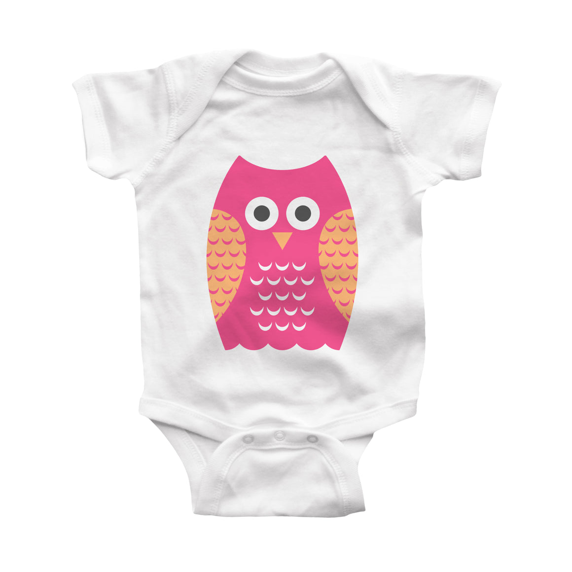 owl infant bodysuit