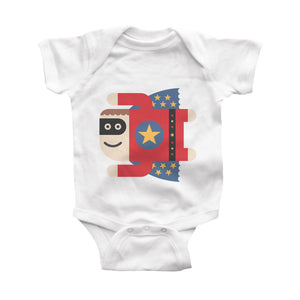 superboy infant bodysuit