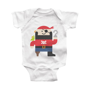 pirate infant bodysuit