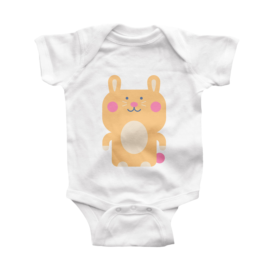 rabbit infant bodysuit