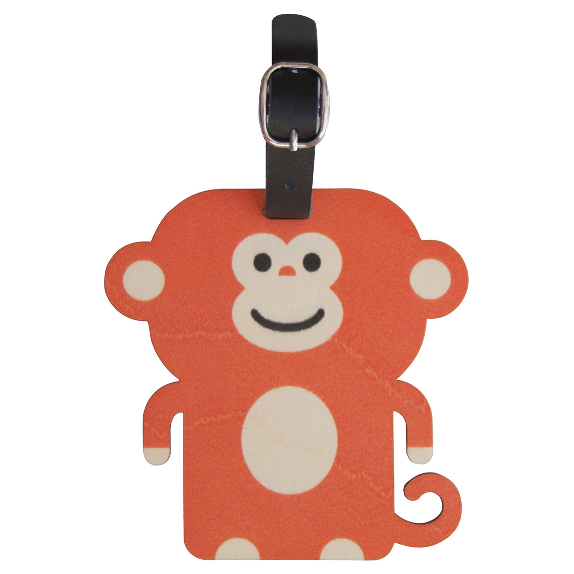 monkey bag tag - modern moose - bag tag - 1