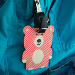 bear bag tag - modern moose - bag tag - 3