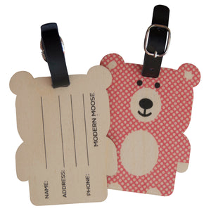 bear bag tag - modern moose - bag tag - 2