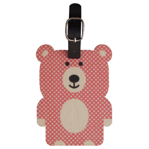 bear bag tag - modern moose - bag tag - 1