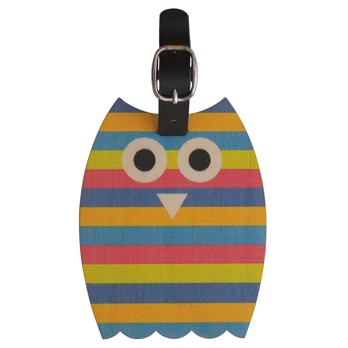 owl bag tag - modern moose - bag tag - 1