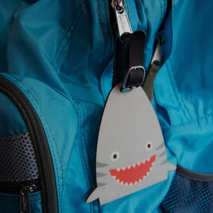 shark bag tag - modern moose - bag tag - 3