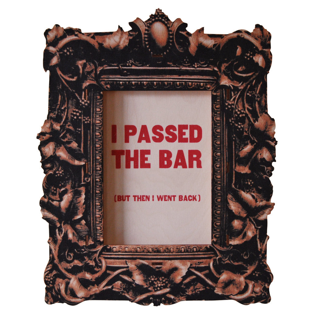 passed bar - modern moose - 3D wall art - 1