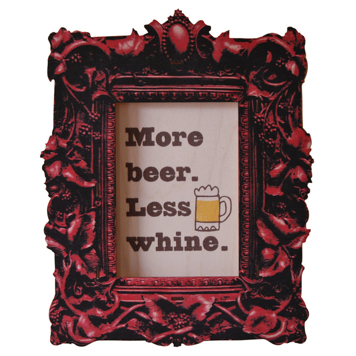 more beer - modern moose - 3D wall art - 1