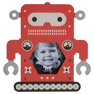 robot fun frame - modern moose - fun frame - 1