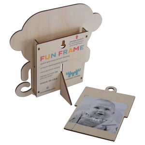 monkey fun frame - modern moose - fun frame - 2