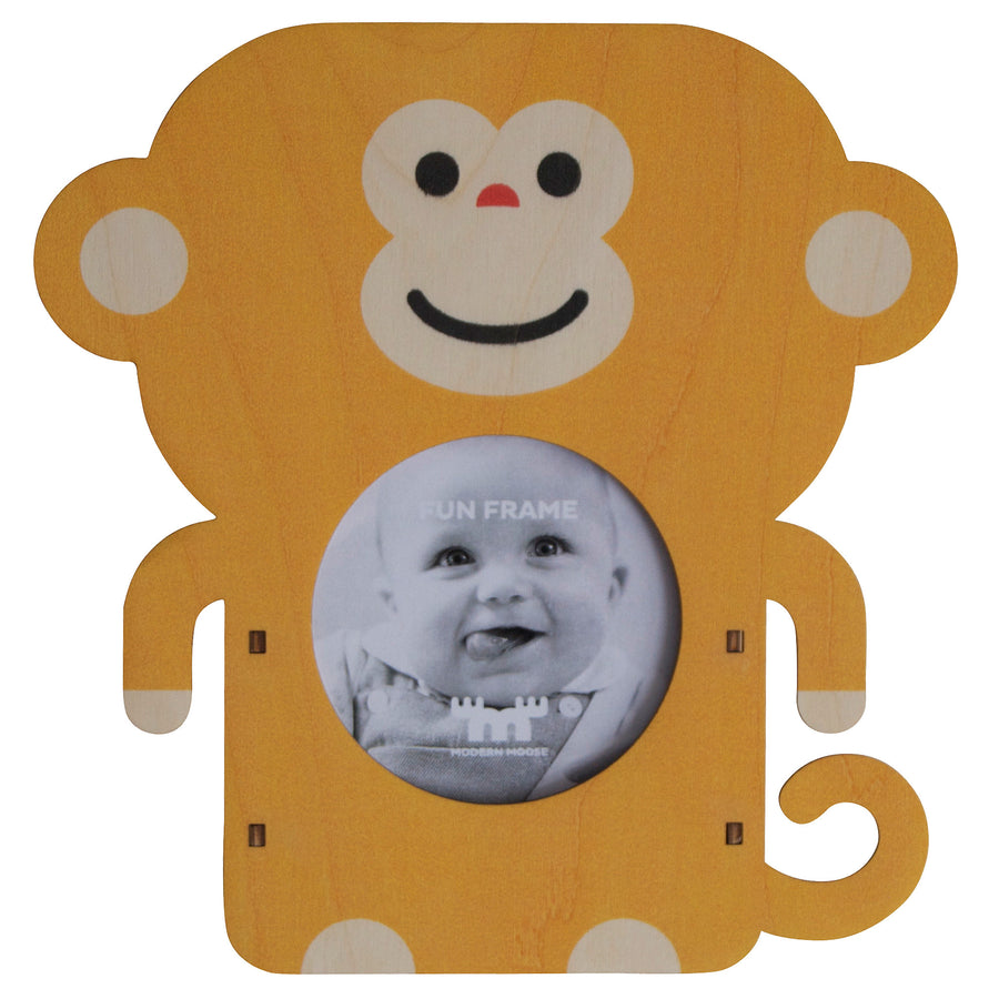 monkey fun frame - modern moose - fun frame - 1