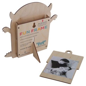 monster fun frame - modern moose - fun frame - 2