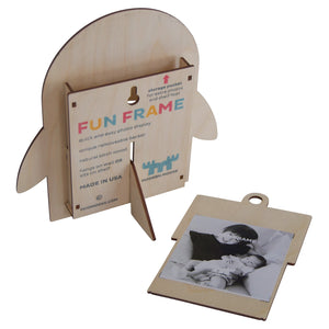penguin fun frame - modern moose - fun frame - 2