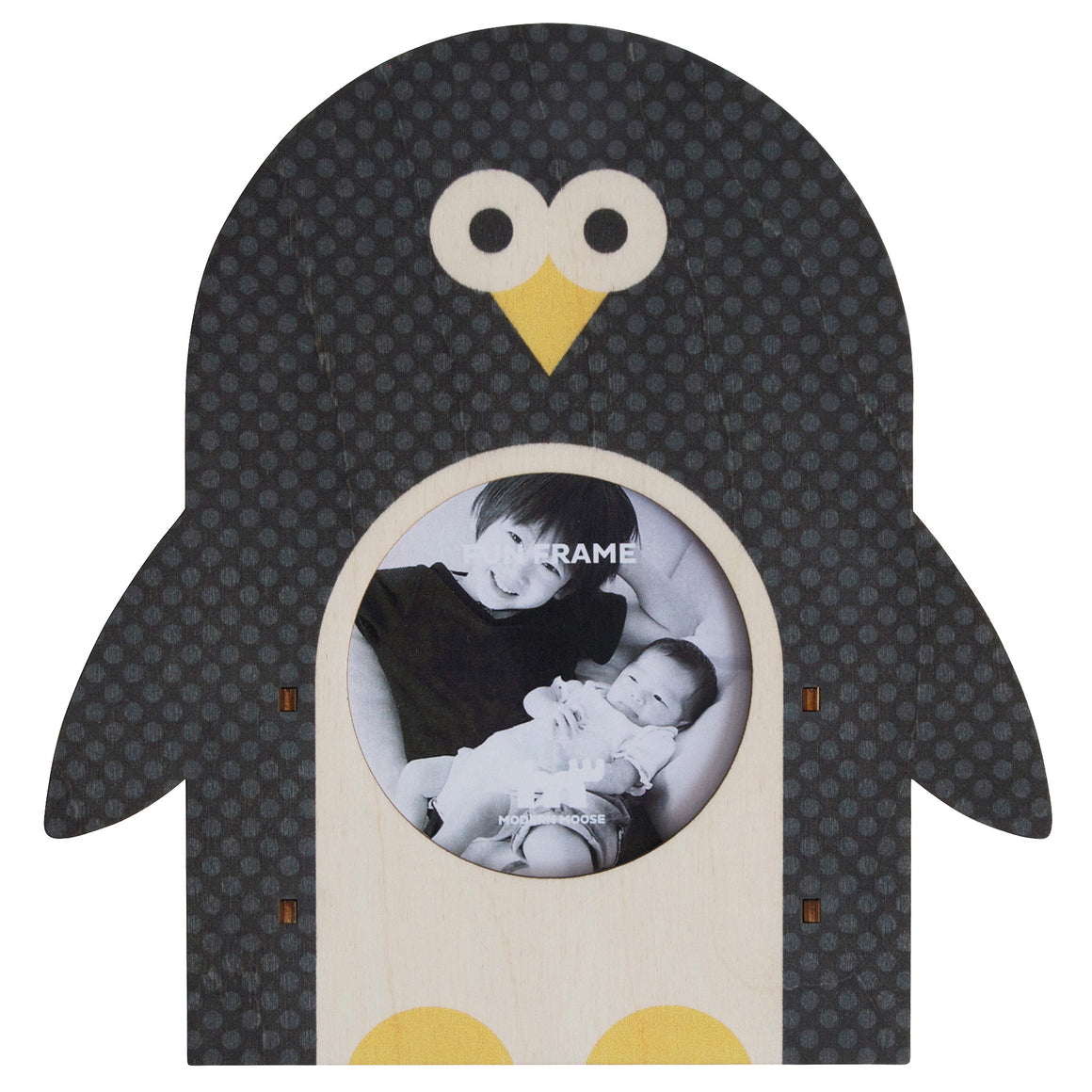 penguin fun frame - modern moose - fun frame - 1