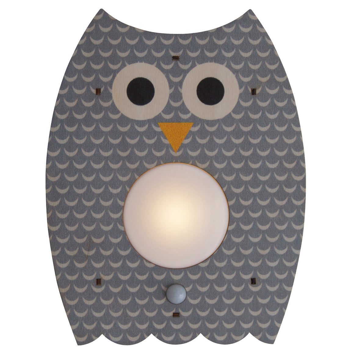 owl nightlight - modern moose - nightlight - 1