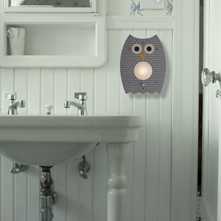 owl nightlight - modern moose - nightlight - 4