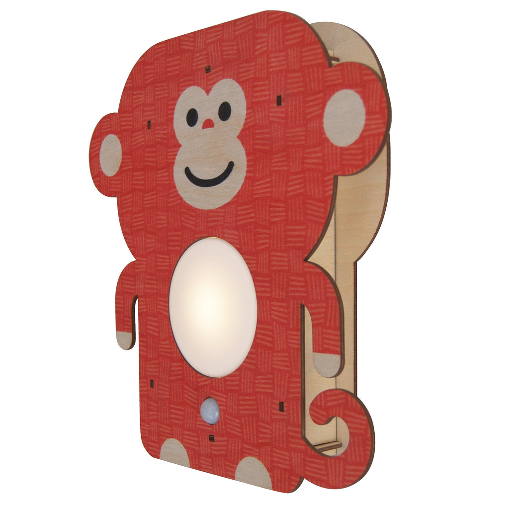 monkey nightlight - modern moose - nightlight - 2