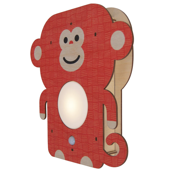 monkey nightlight - modern moose - nightlight - 1