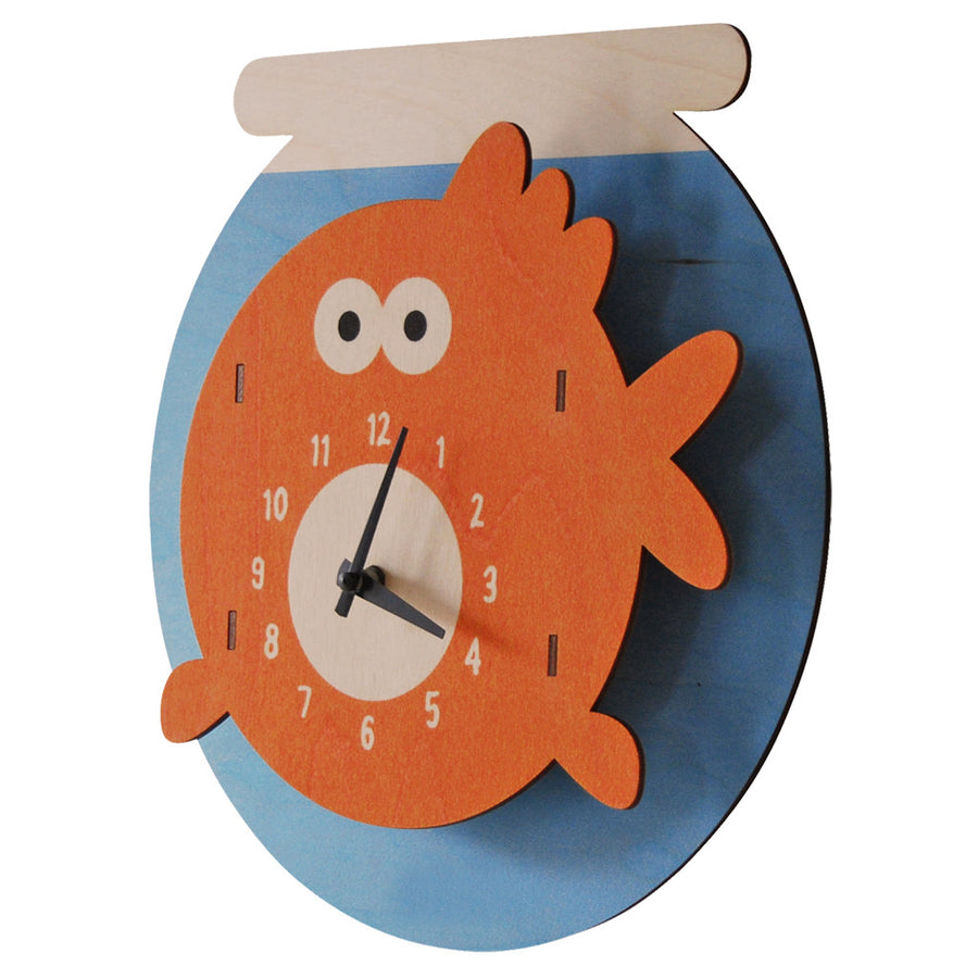 goldfish clock - modern moose - clock - 2