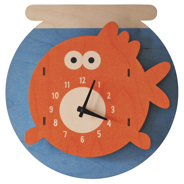 goldfish clock - modern moose - clock - 1