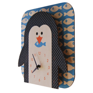 penguin - modern moose - clock - 2