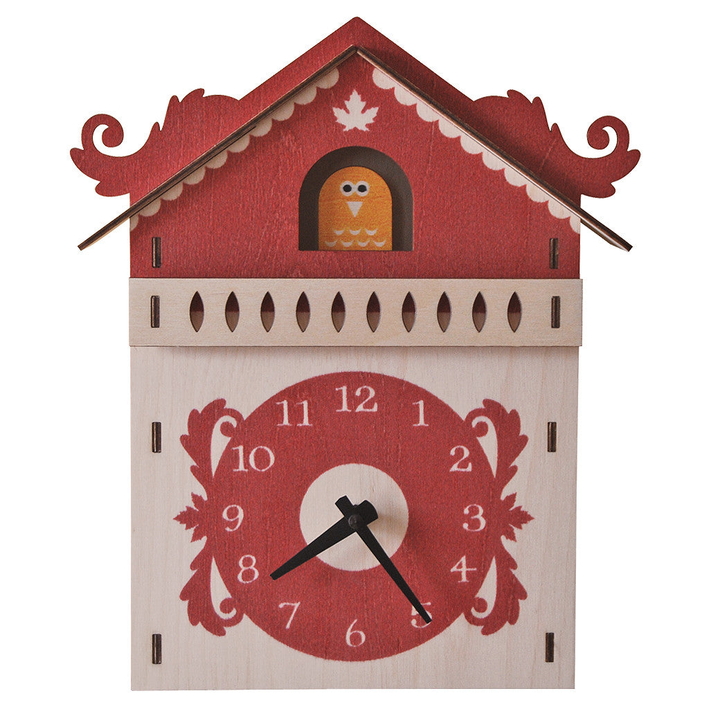 kids clock cuckoo clock modern moose