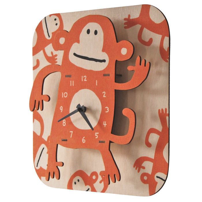 monkey clock - modern moose - clock - 2