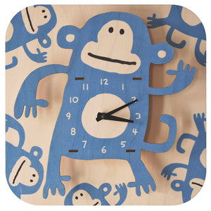 monkey clock - modern moose - clock - 3