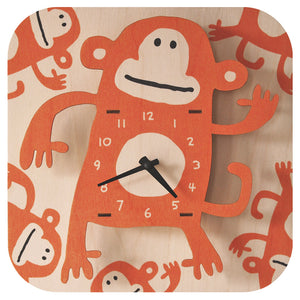 monkey clock - modern moose - clock - 1