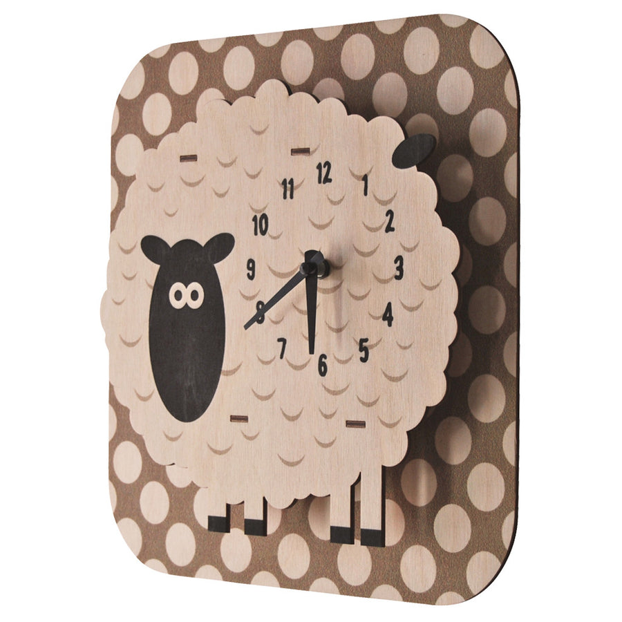 sheep clock - modern moose - clock - 2