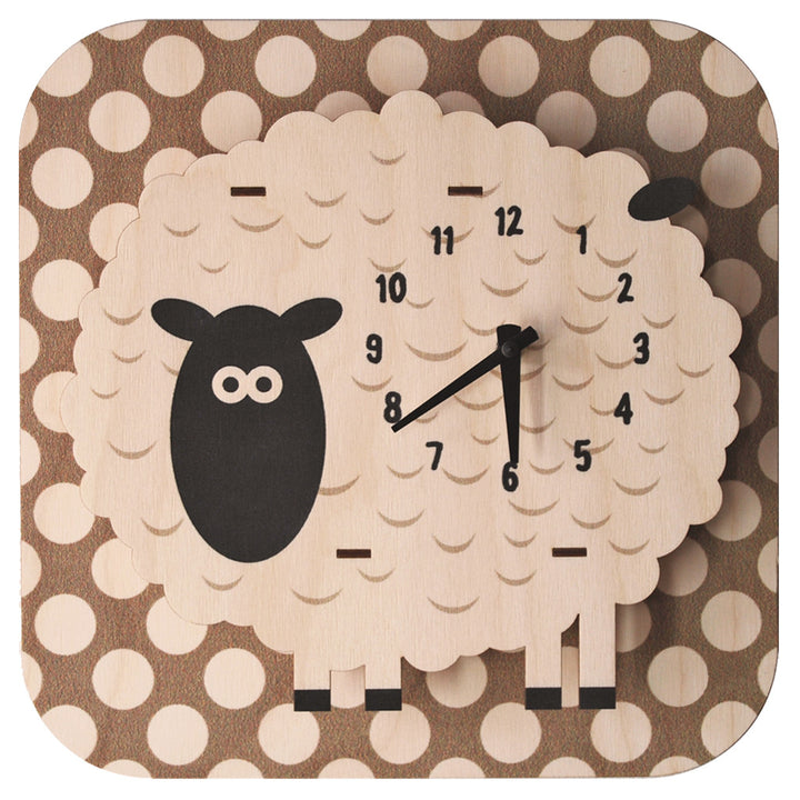 sheep clock - modern moose - clock - 1