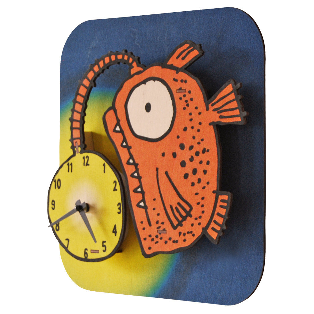 glowfish clock - modern moose - clock - 2