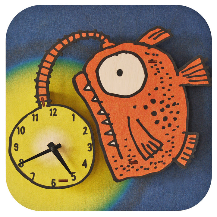 glowfish clock - modern moose - clock - 1