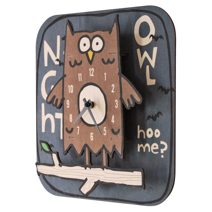 night owl clock - modern moose - clock - 2