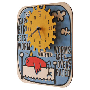 early bird clock - modern moose - clock - 2