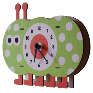 caterpillar clock - modern moose - clock - 2