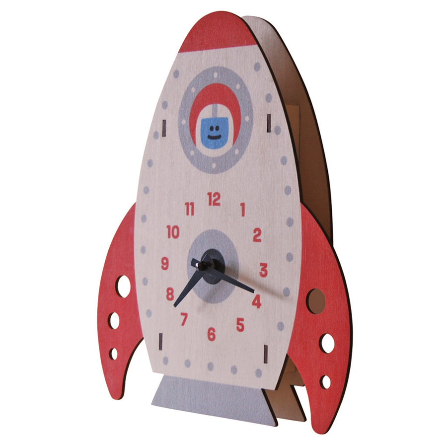 rocket clock - modern moose - clock - 2