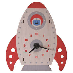 rocket clock - modern moose - clock - 1