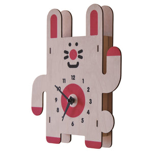 rabbit clock - modern moose - clock - 2